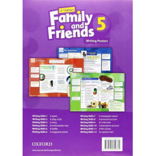 Плакаты Family and Friends (Second Edition) 5 Posters