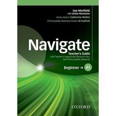 Книга для учителя Navigate Beginner A1 Teacher's Book