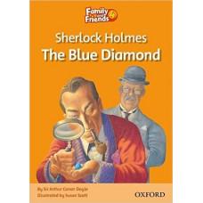 Книга для чтения Family and Friends 4 Sherlock Holmes and the Blue Diamond