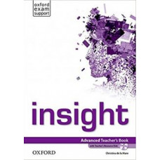 Книга для учителя Insight Advanced Teacher's Book with DVD
