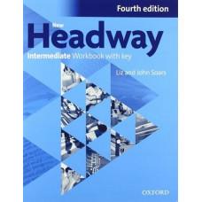 Рабочая тетрадь New Headway (4th Edition) Intermediate Workbook with Key