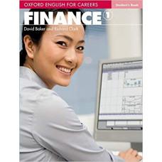 Учебник Finance Level 1 Student Book