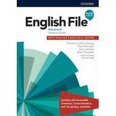 Книга для учителя English File 4th Edition Advanced Teacher's Guide