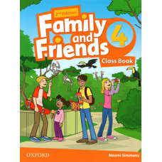 Учебник  Family and Friends (Second Edition) 4 Class Book