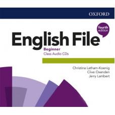 Диски English File (4th Edition) Beginner Class Audio CDs