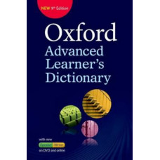 """Oxford Advanced Learner's Dictionary Paperback + DVD + Premium Online Access Code"""""""