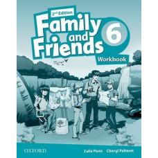 Рабочая тетрадь Family and Friends (Second Edition) 6 Workbook
