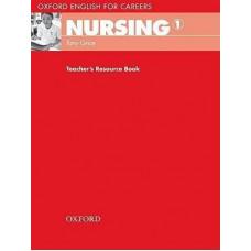 Книга для учителя Nursing 1 Teacher's Resource Book