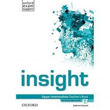 Книга для учителя Insight Upper-Intermediate Teacher's Book with DVD