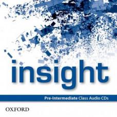 Диски Insight Pre-Intermediate Class Audio CDs (3)