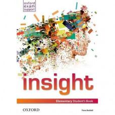 Учебник английского языка Insight Elementary Student's Book