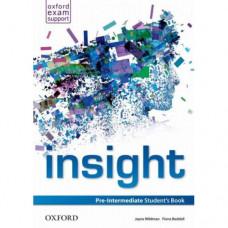 Учебник английского языка Insight Pre-Intermediate Student's Book