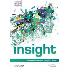 Учебник английского языка Insight Upper-Intermediate Student's Book