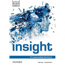 Рабочая тетрадь Insight Pre-Intermediate Workbook