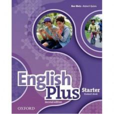 Учебник  English Plus Starter Second Edition  Student's Book