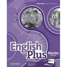 Рабочая тетрадь English Plus Starter   Second Edition  Workbook