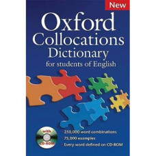 Словарь английского языка Oxford Collocations Dictionary for Students of English 2nd Edition Pack with CD-ROM
