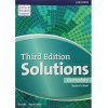 Solutions 3Ed Elementary