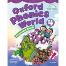 Учебник Oxford Phonics World 4 Student's Book