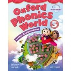 Учебник Oxford Phonics World 5 Student's Book