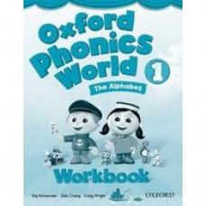 Рабочая тетрадь Oxford Phonics World 1 Workbook