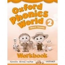 Рабочая тетрадь Oxford Phonics World 2 Workbook