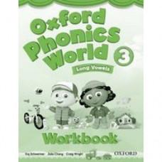 Рабочая тетрадь Oxford Phonics World 3 Workbook