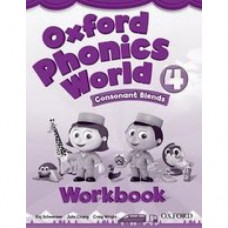 Рабочая тетрадь Oxford Phonics World 4 Workboo