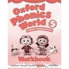 Рабочая тетрадь Oxford Phonics World 5 Workbook
