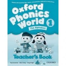 Книга для учителя Oxford Phonics World 1 Teacher's Book