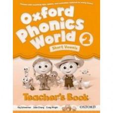Книга для учителя Oxford Phonics World 2 Teacher's Book