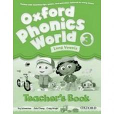 Книга для учителя Oxford Phonics World 3 Teacher's Book