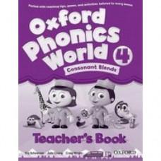 Книга для учителя Oxford Phonics World 4 Teacher's Book