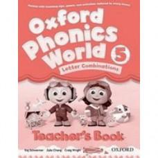 Книга для учителя Oxford Phonics World 5 Teacher's Book