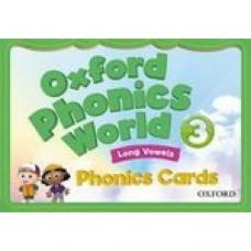 Карточки Oxford Phonics World 3 Phonics Cards