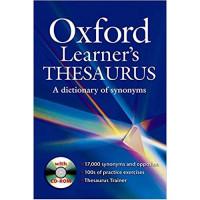 Словарь английского языка Oxford Learner's Thesaurus Pack with CD-ROM