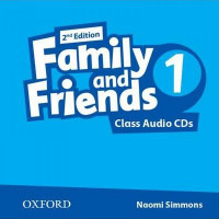 Диски Family and Friends (Second Edition) 1 Class Audio CD (2)