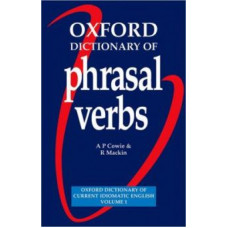 Oxford Dictionary of Phrasal Verbs Paperback