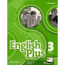 Рабочая тетрадь English Plus 3 Second Edition Workbook