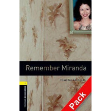 Oxford Bookworms Library Level 1: Remember Miranda Audio CD Pack