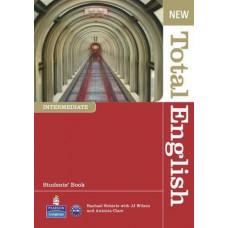 Учебник английского языка New Total English Intermediate Students' Book with Active Book Pack