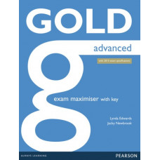 Рабочая тетрадь Gold Advanced Maximiser with Key
