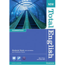 Учебник английского языка New Total English Elementary Students' Book with Active Book Pack