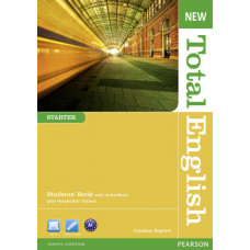 Учебник английского языка New Total English Starter Students' Book With Active Book Pack
