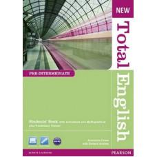 Учебник английского языка New Total English Pre-Intermediate Students' Book with Active Book