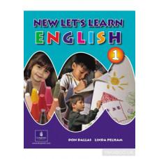 Учебник New Let's Learn English Pupils' Book 1 and Handwriting Book Pack и Рабочая тетрадь  Activity Book 1