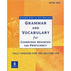 Учебник английского языка Grammar and Vocabulary for Cambridge Advanced and Proficiency Paperback with key