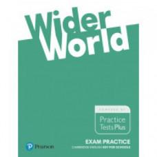 Тесты Wider World Exam Practice Cambridge English Key for Schools