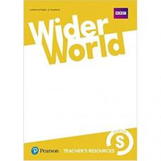 Книга для учителя Wider World Starter Teacher's Resource Book