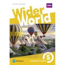 Учебник  Wider World Starter Student's Book